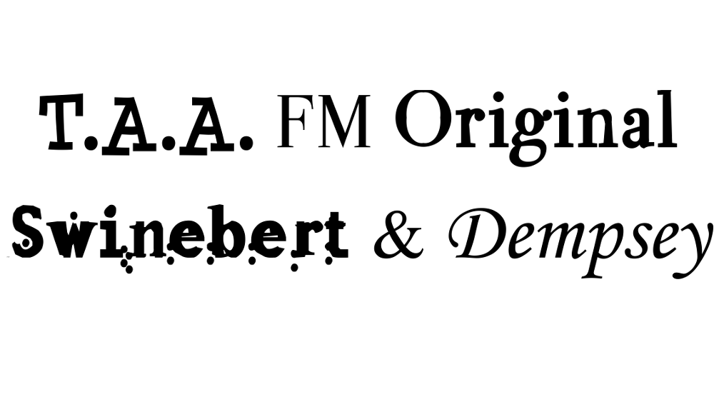 Swinebert and Dempsey Title Cover