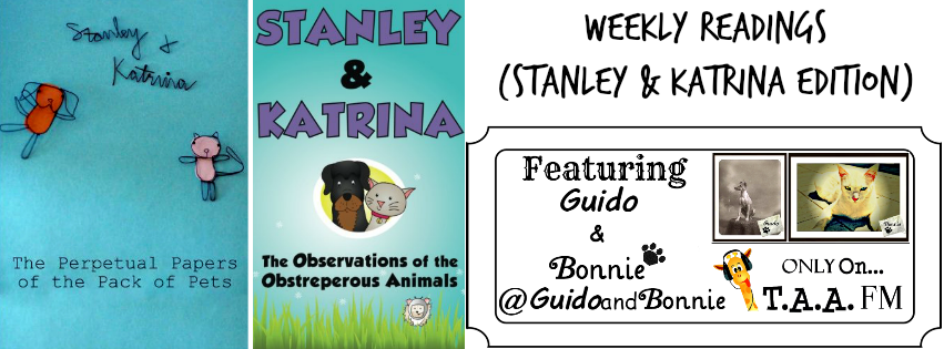 Weekly Readings (Stanley & Katrina Edition)