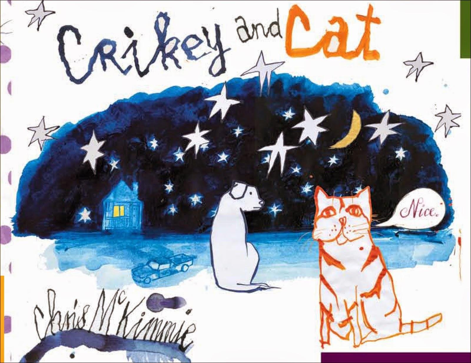 Crickey and Cat