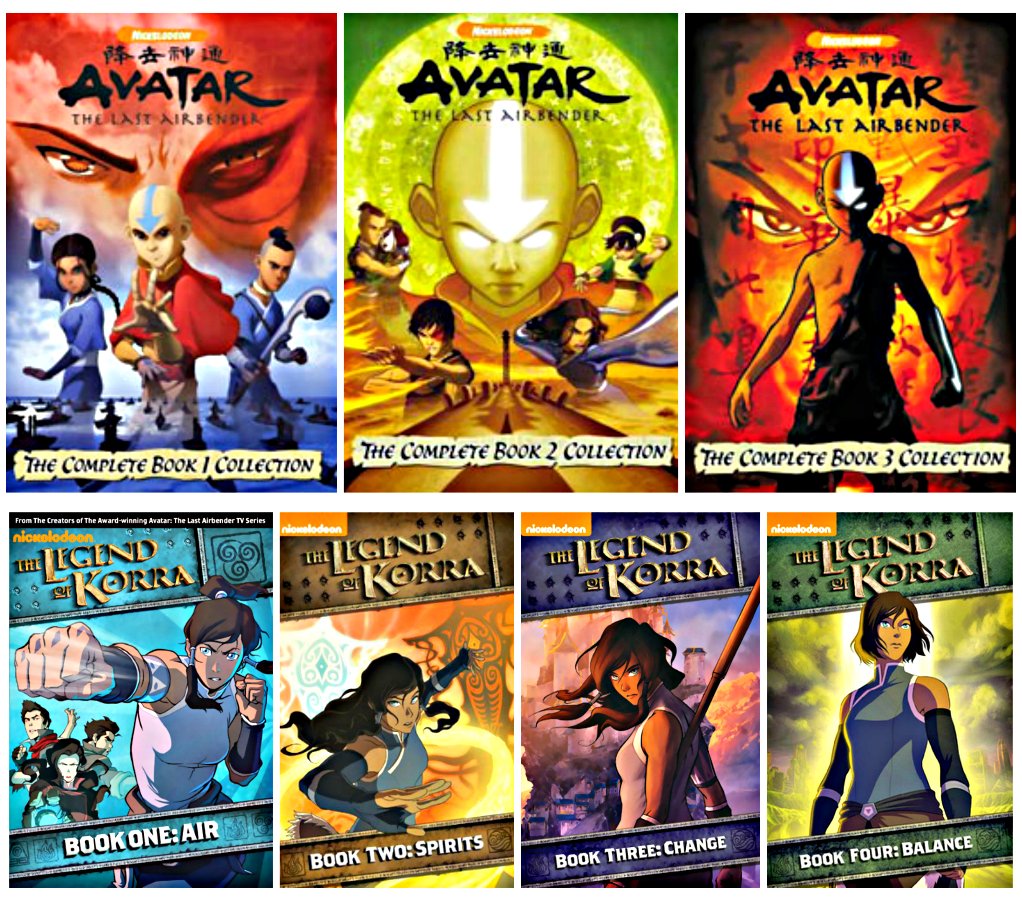 Avatar and Korra